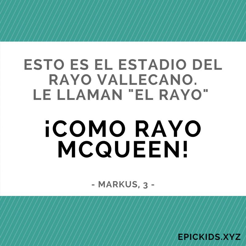 Como Rayo McQueen!