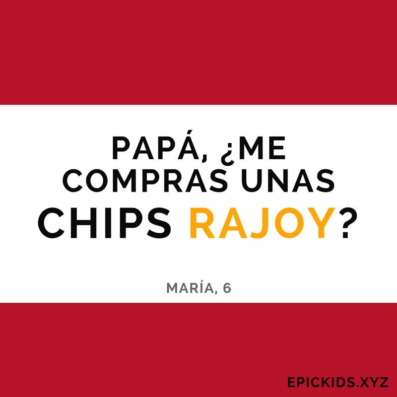 Me compras unas Chips Rajoy