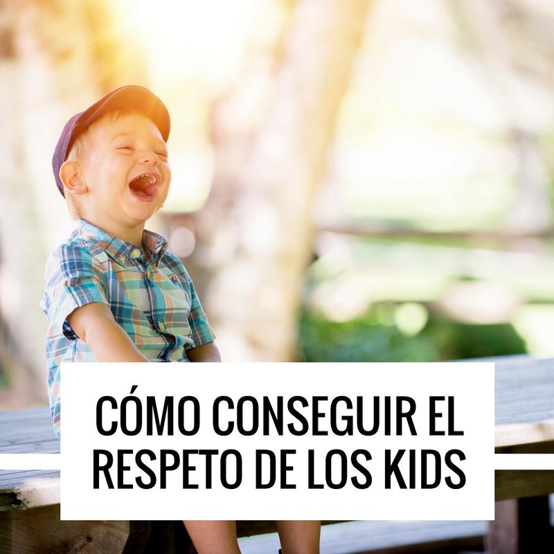 conseguir respeto de niños