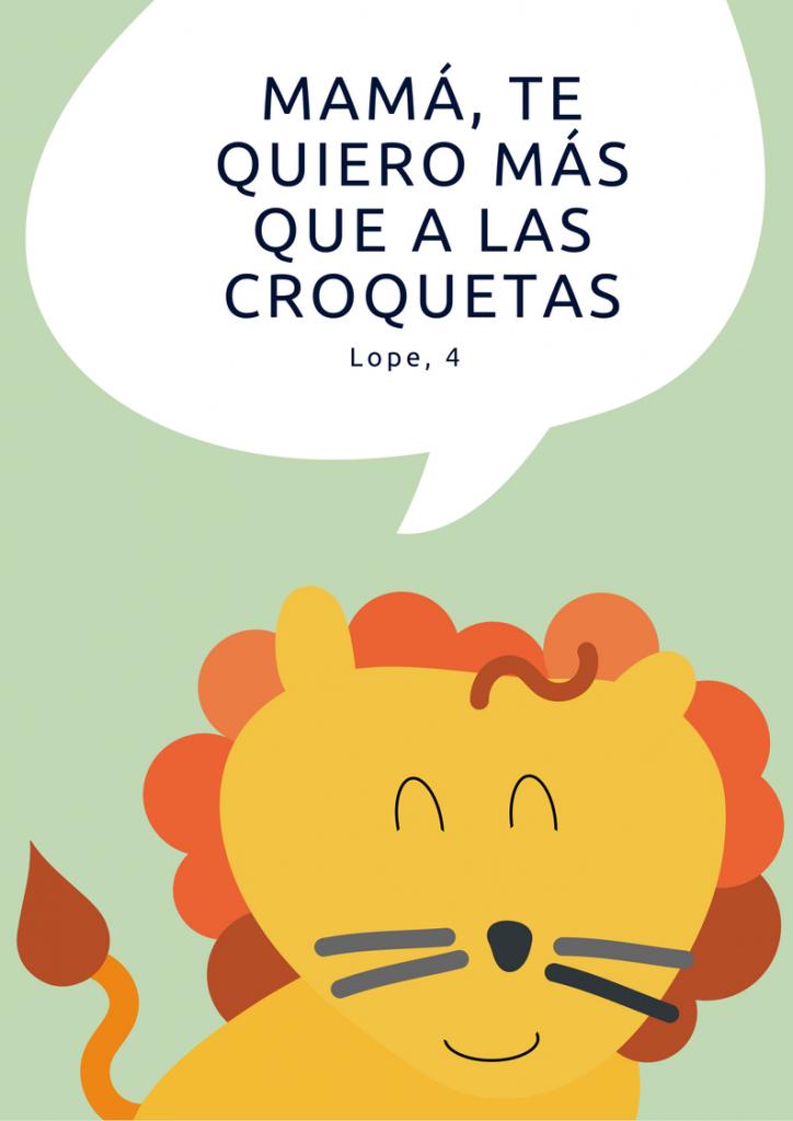 Lámina personalizada con león