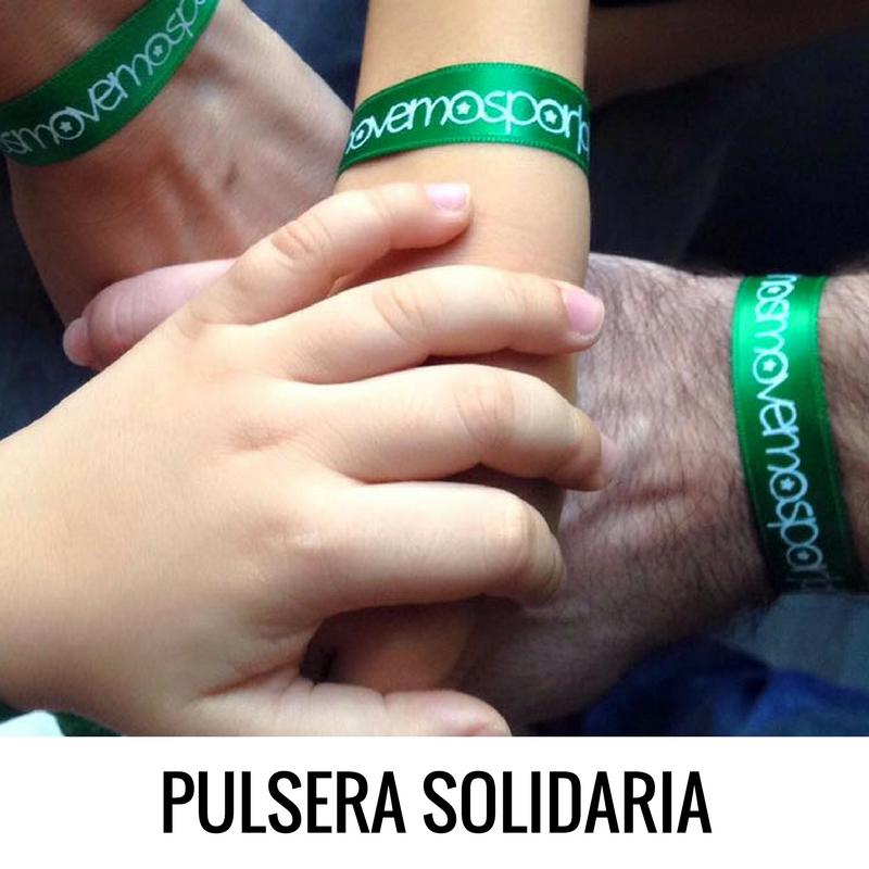 Pulsera solidaria