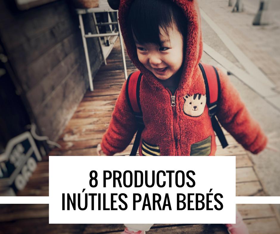 productos de bebé inutiles