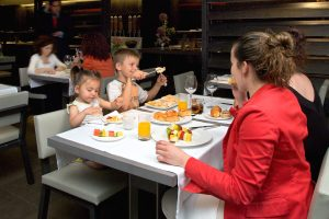niños restaurantes